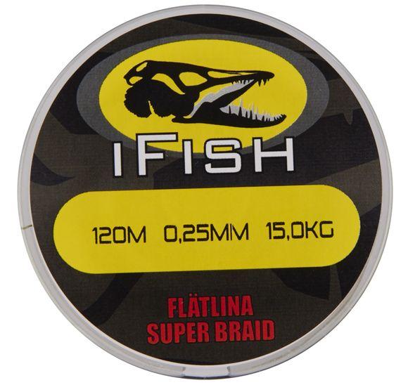 IFISH FLÄTLINA, GÖS 120M, 0,25