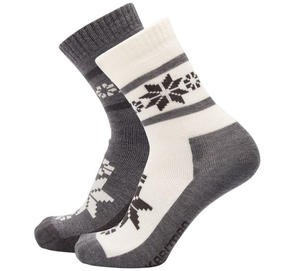 RUSA WOOL SOCK 2PK