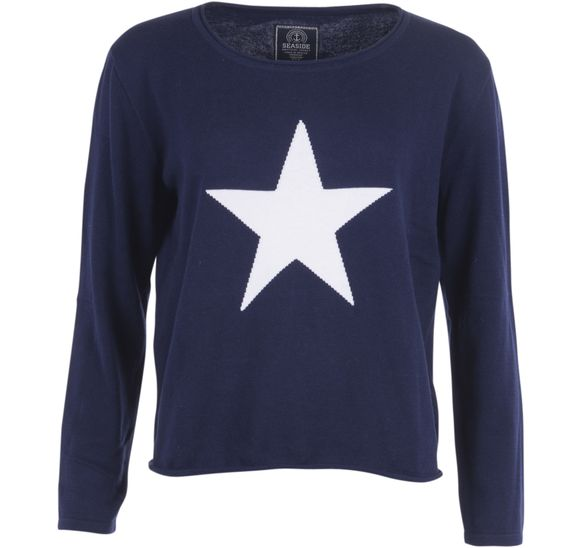Star Knitted Sweater W