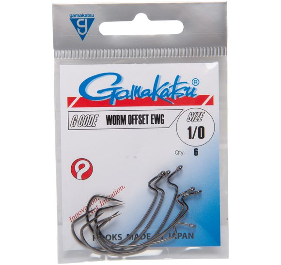 GAMAKATSU HOOK WORM OFFSET EWG