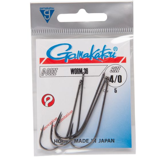 GAMAKATSU HOOK WORM 36 /0 (SP