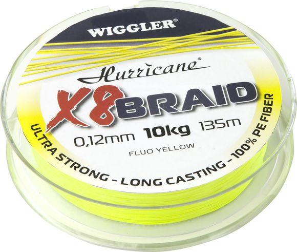 Hurricane X8 braid fluo