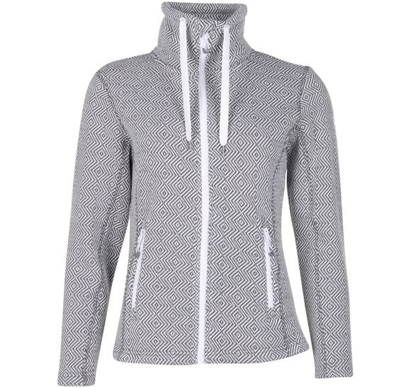 Freida W Melange Fleece Jacket