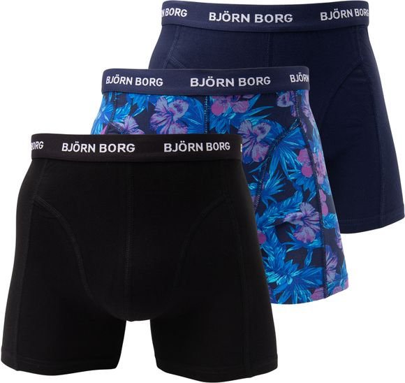 SHORTS BB FLOWER 3p