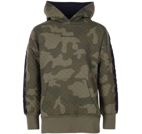 K Hooded Sweatshirt Camo Maxi
