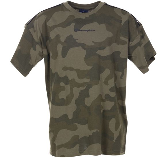 K Crewneck T-shirt Camo Maxi L