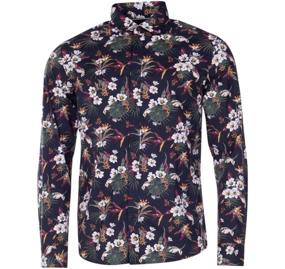 Shirt - Tyler LS BU Flower