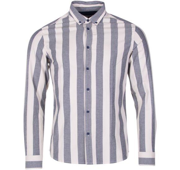 Shirt - Juan LS BD Stripe