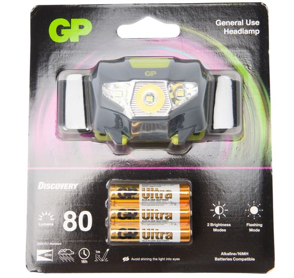 GP DISCOVERY HEADLAMP BRIGHT 8