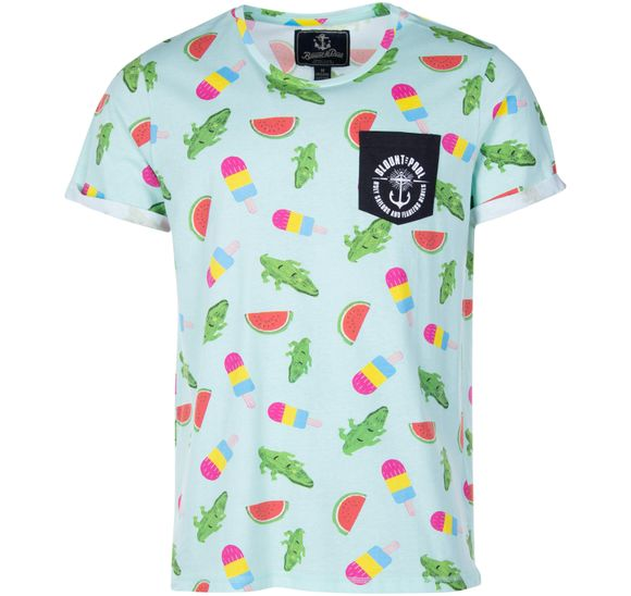 Tropical Pocket Tee