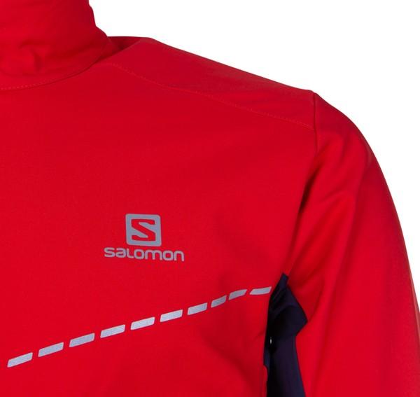 Agile Softshell Jacket M Fiery Red