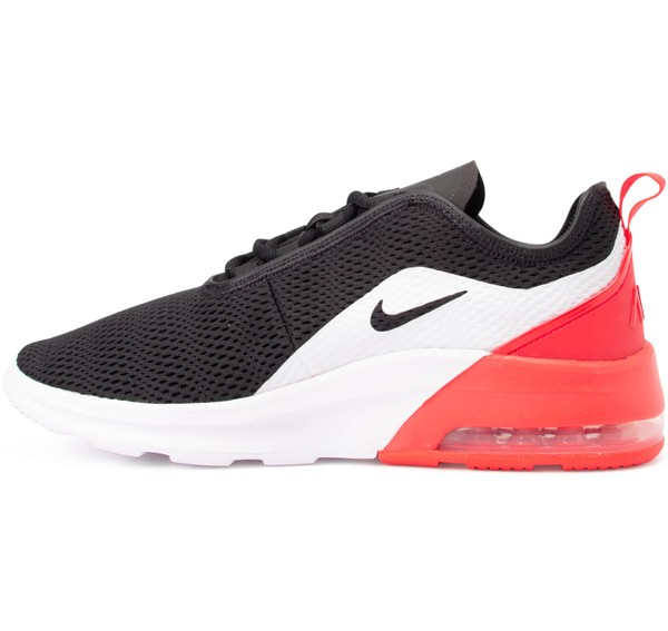 Men's Nike Air Max Motion 2 Running Sneakers BlackRed Orbit