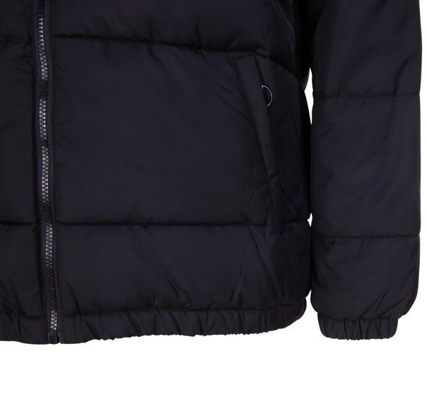 dewe padded jacket, black bright white, m, fila – fila