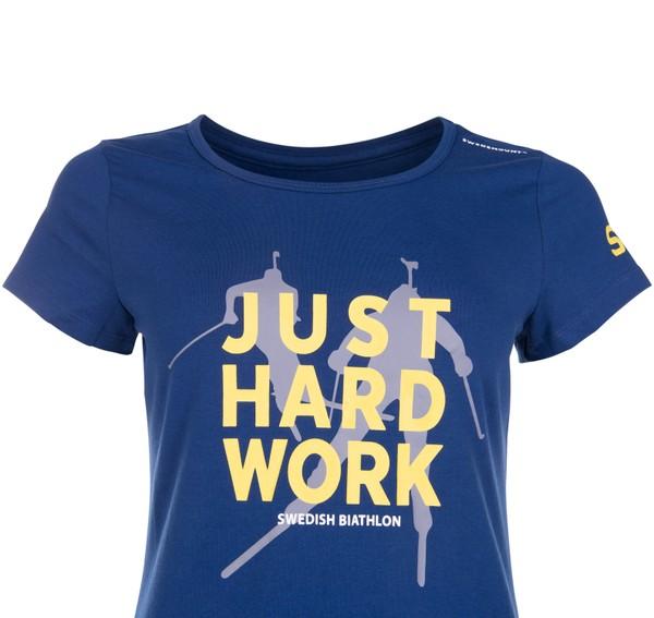 JUST HARD WORK TEE W