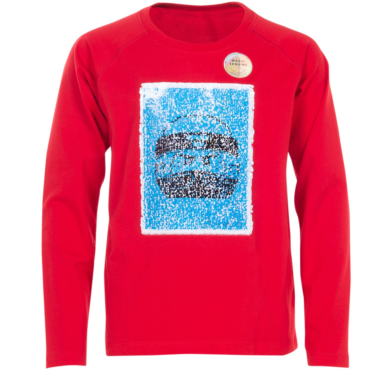 Lwtiger 652 - T-Shirt L/S, Bright Red, 104,  Lego