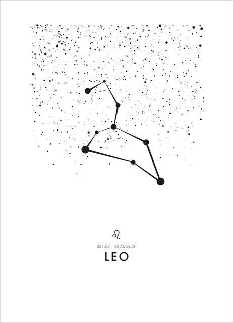 Poster lejonet/Leo poster