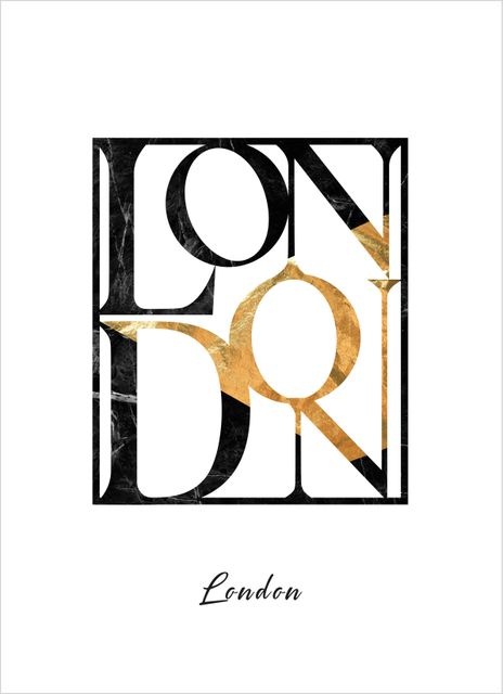 London text poster