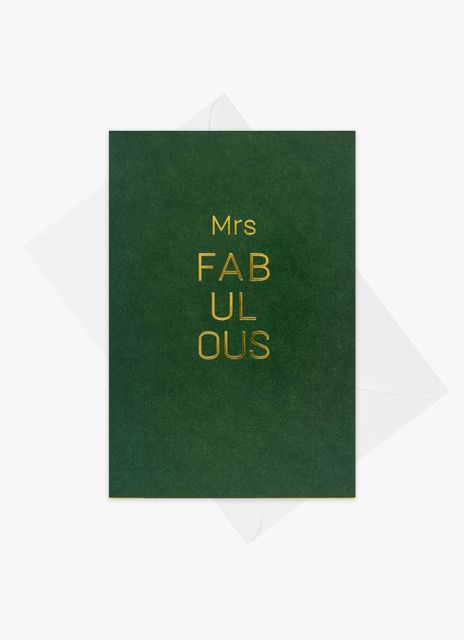 Mrs Fabulous