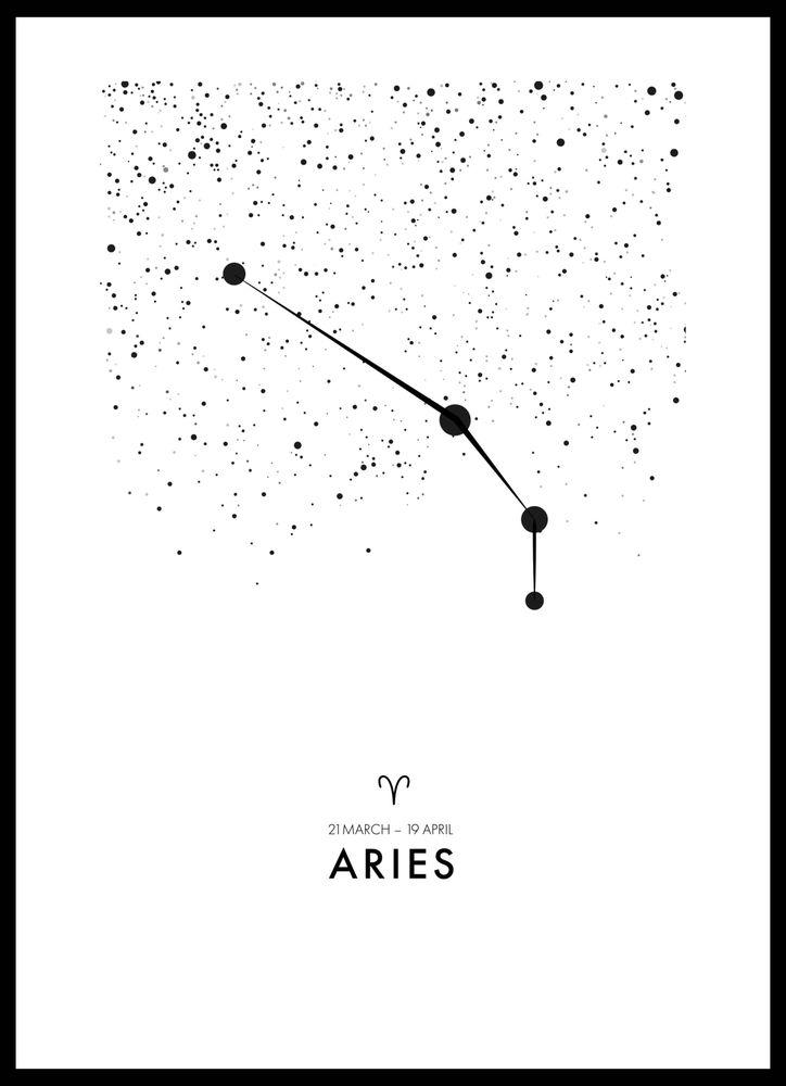 Poster väduren/Aries poster