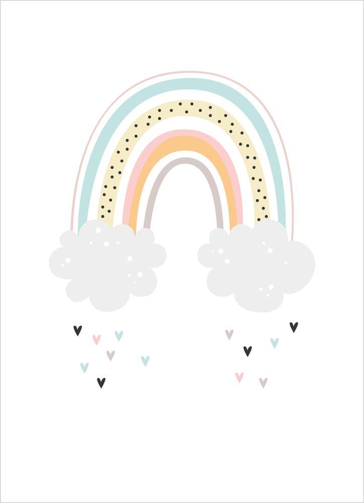 Regnbåge pastell