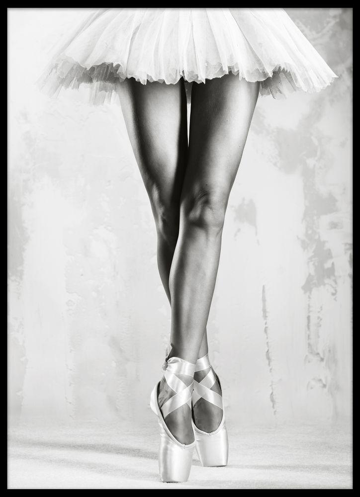 Tavla med ballerina