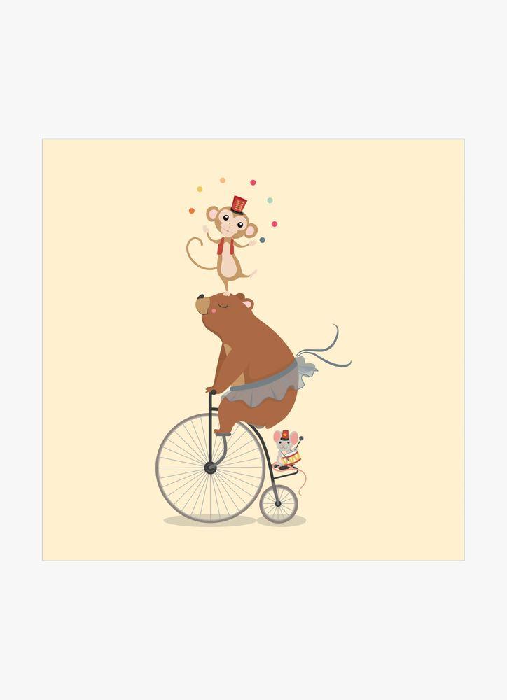 Cirkusbjörn poster