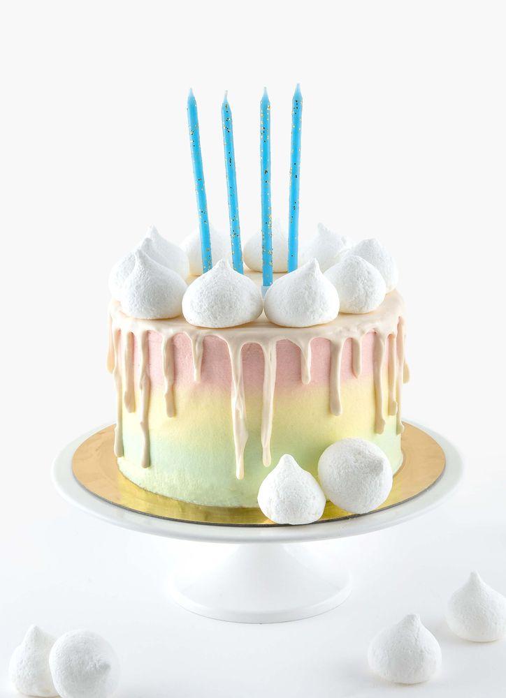 Tårtljus blå