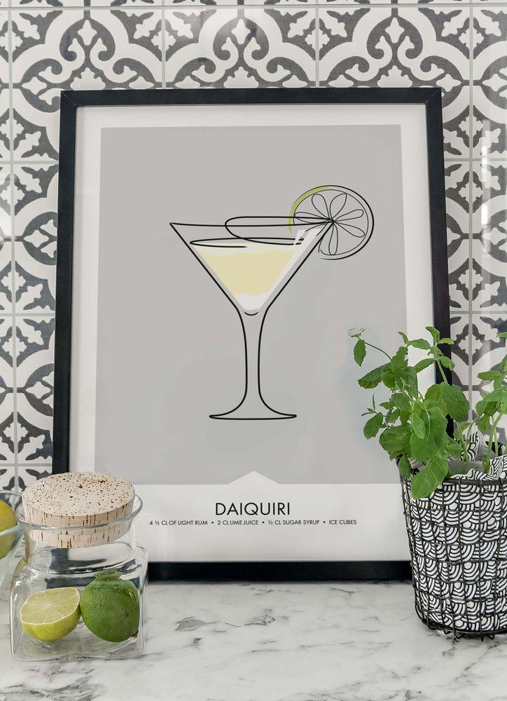 Daiquiri drink poster