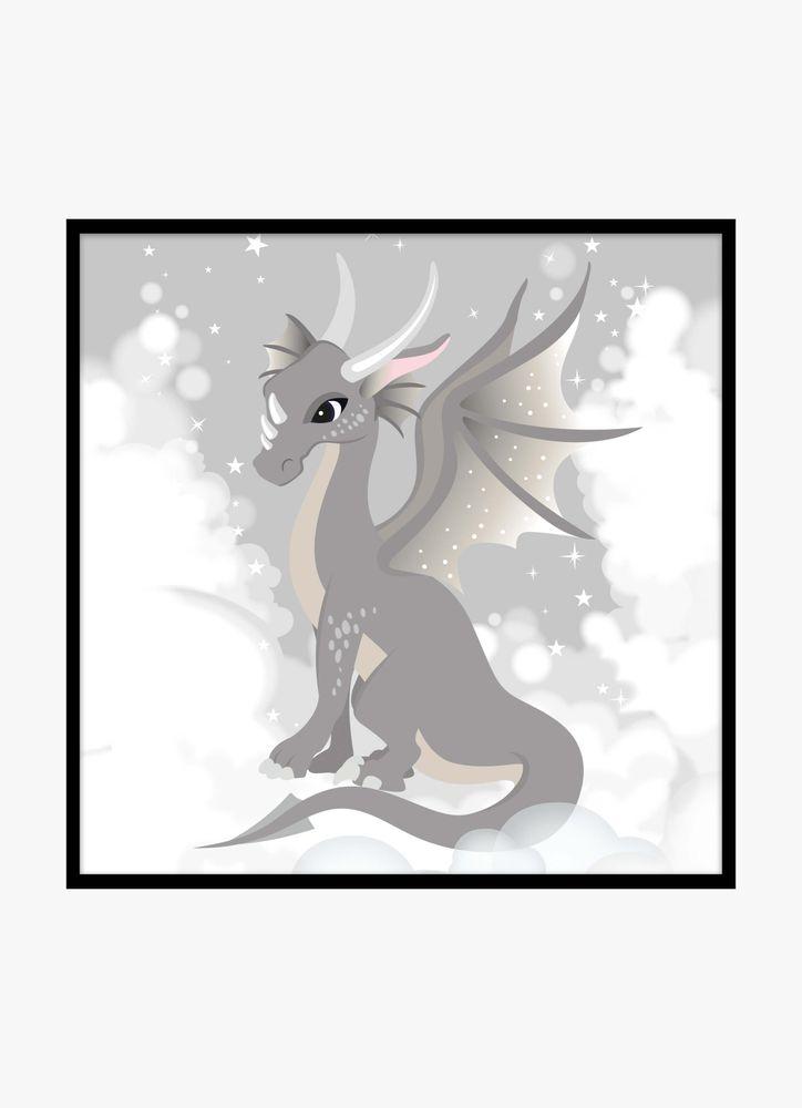 Magisk drake poster