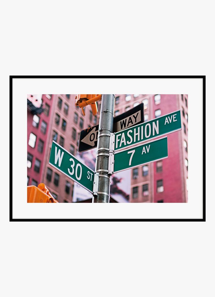 Fashion ave poster