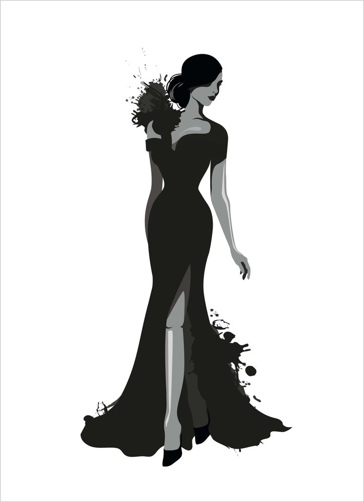 Fashion kvinna poster
