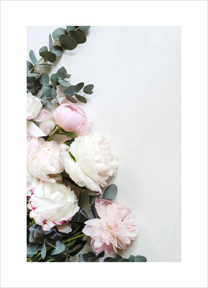 Blommor poster