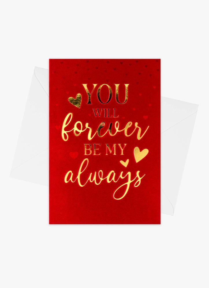 Forever my Always Kort