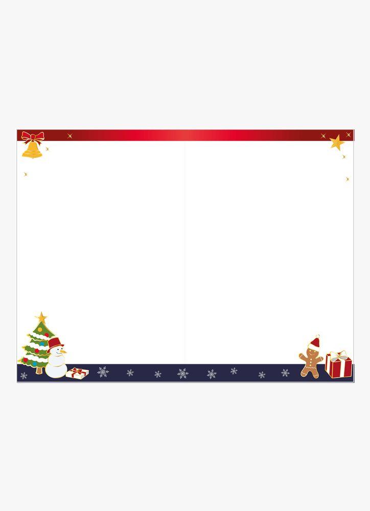Julkula med symboler julkort