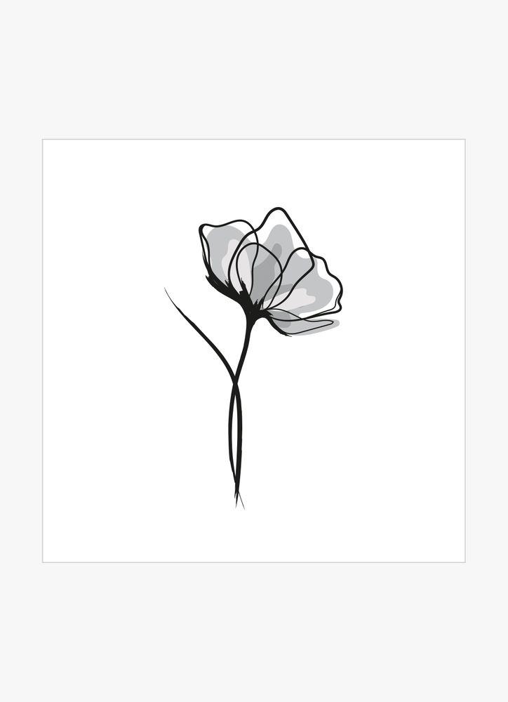 Grå blomma
