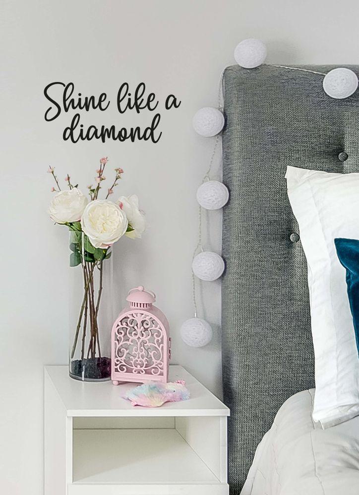 Like a diamond väggdekor