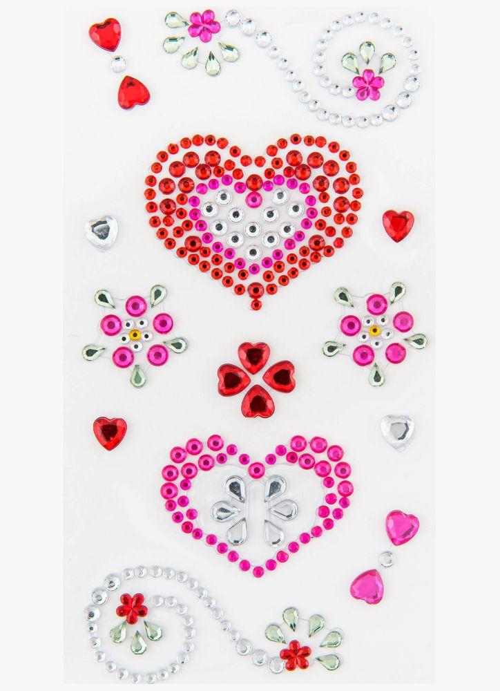 Kärlek pärlor klistermärken