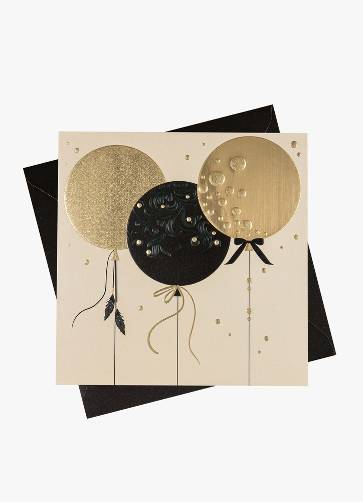 Ballonger gratulationskort