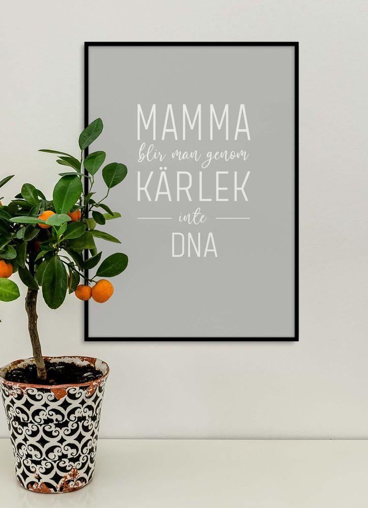Mamma DNA poster