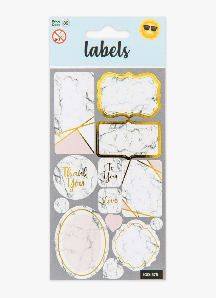 Marble Label