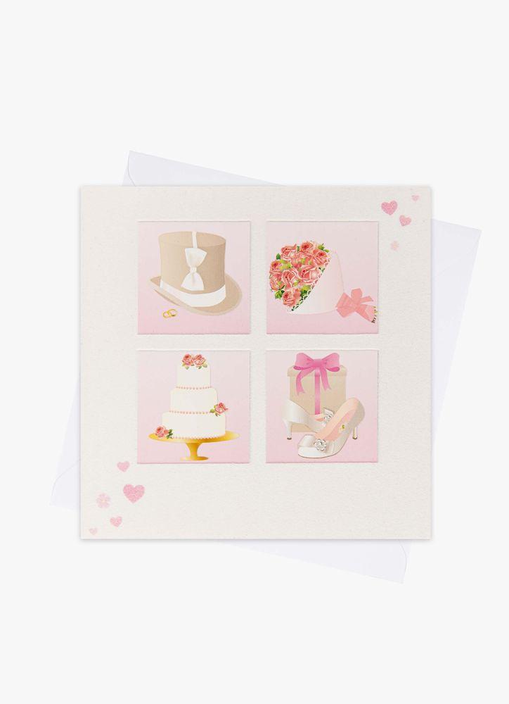 Marriage Symbols Bröllopskort