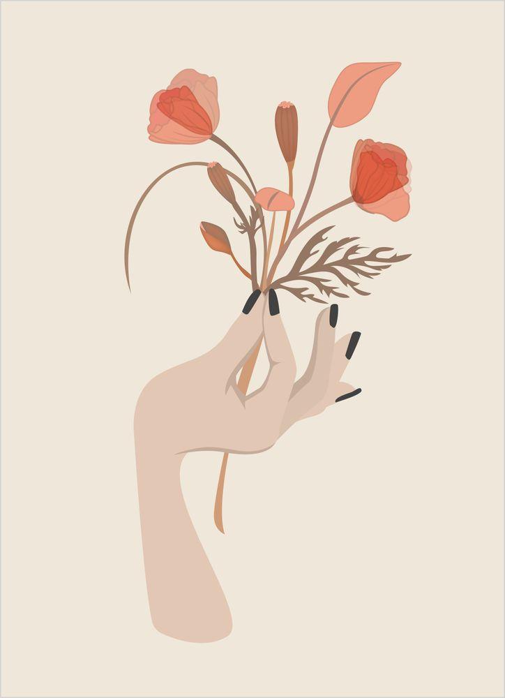 Moder jord Blommor