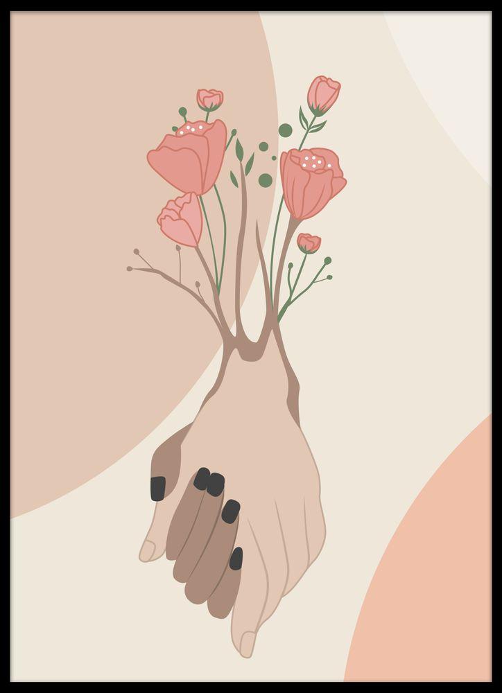 Moder jord Växa tillsammans