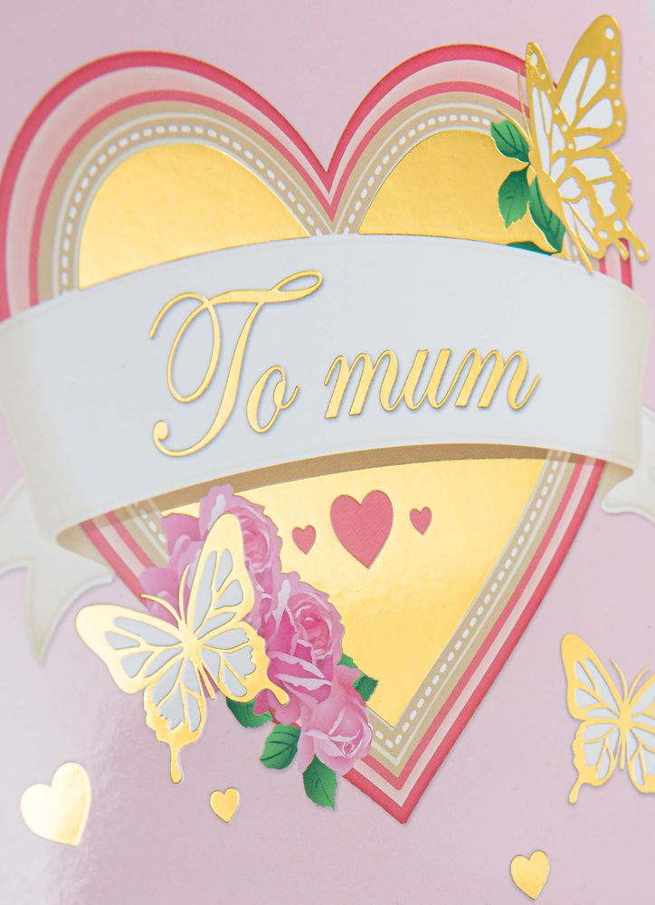 To mum - hjärta