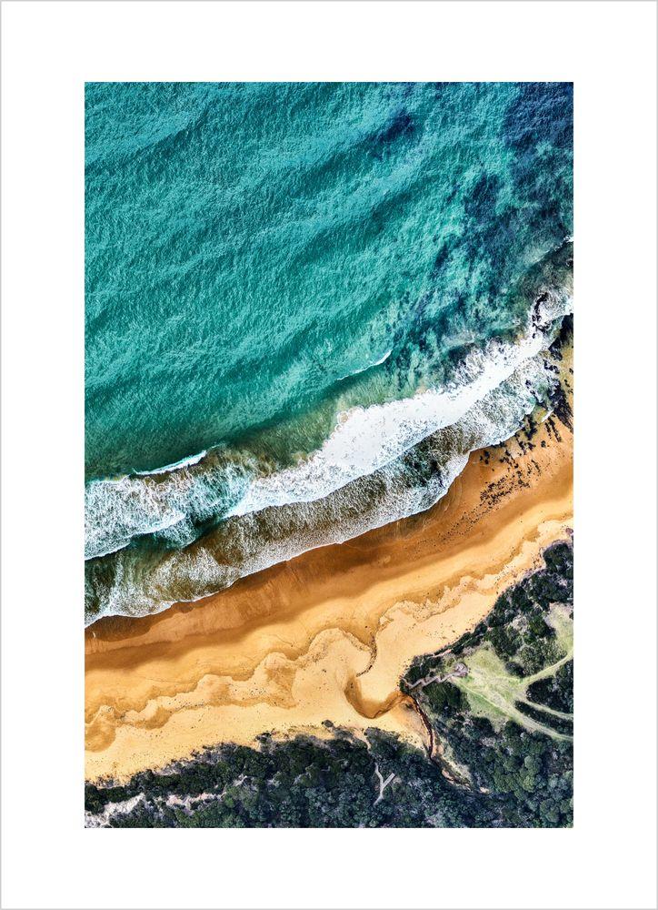 Strand från ovan poster