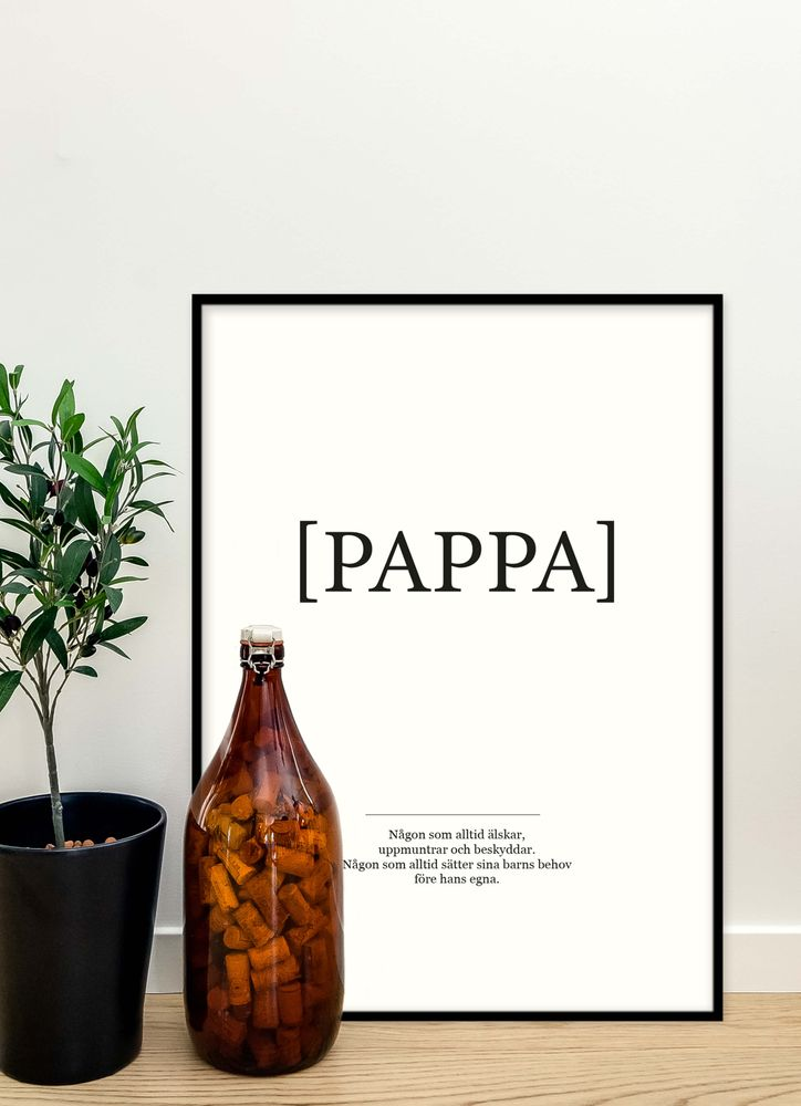 Pappa poster