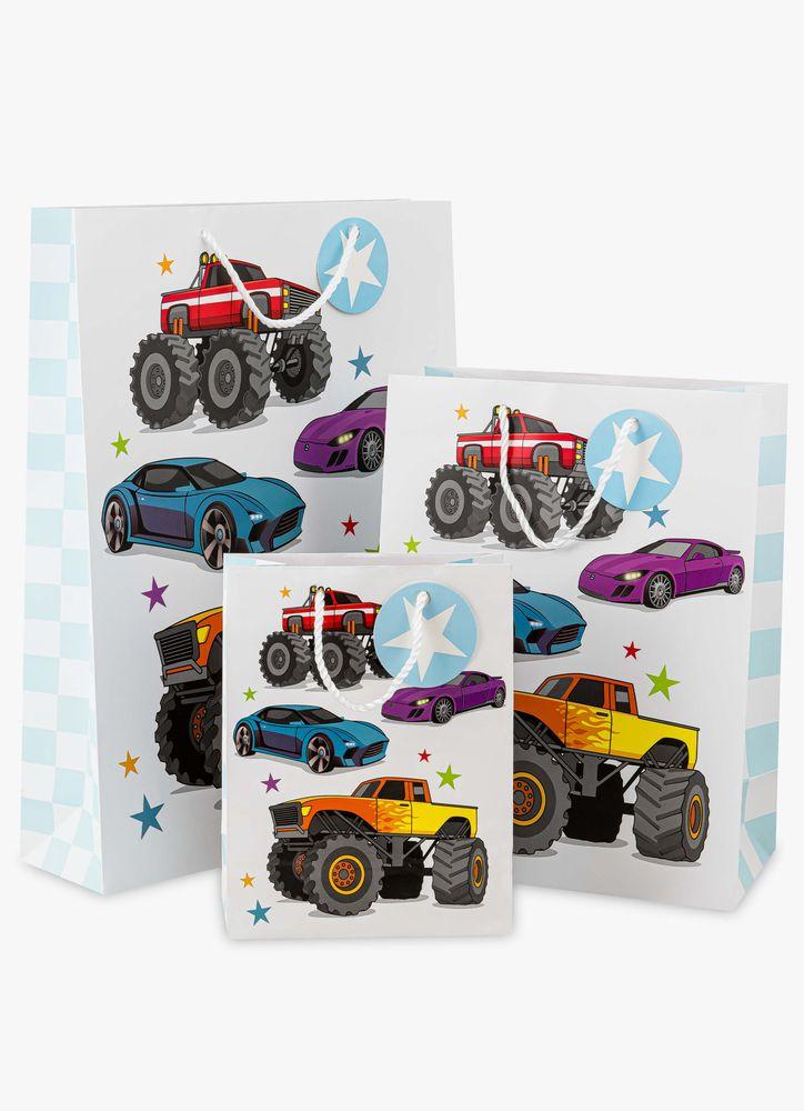 Coola bilar presentpåse XL
