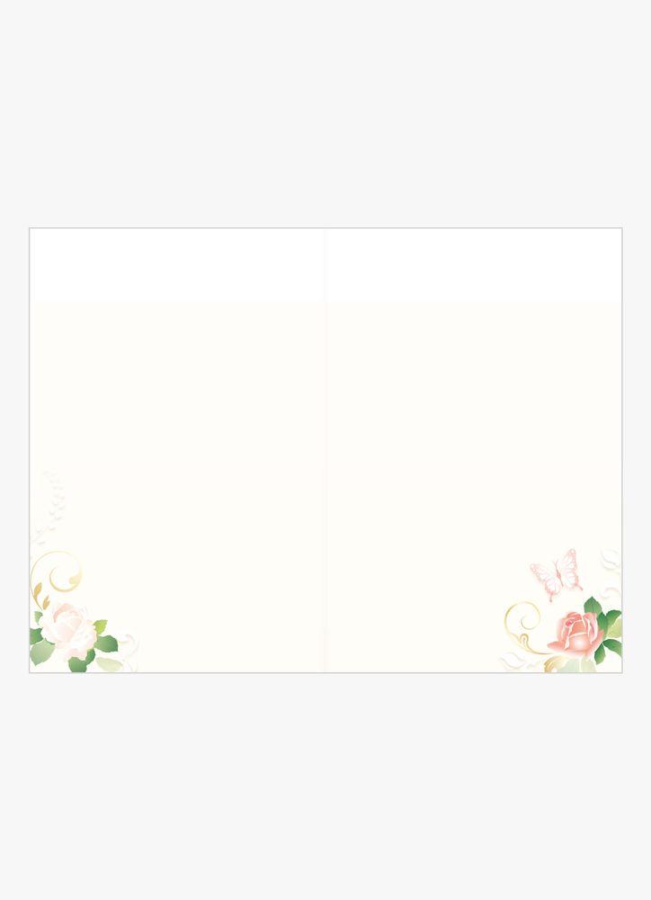 Romantiska rosor kort