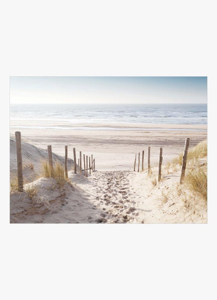 Vägen till stranden poster