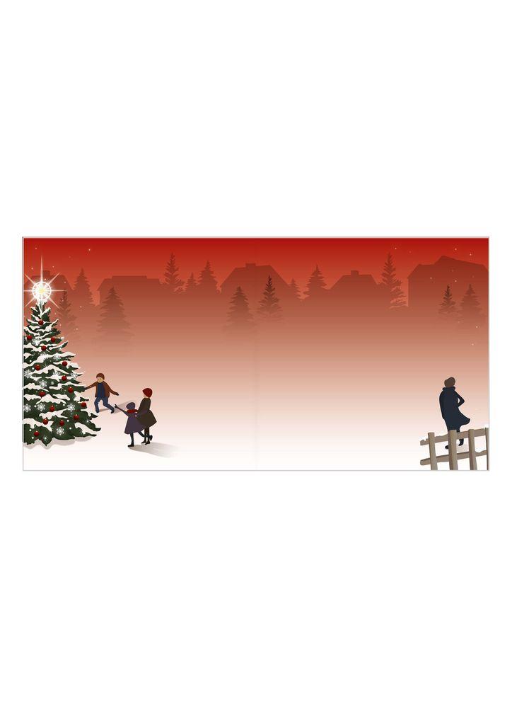 Tomtens renar julkort